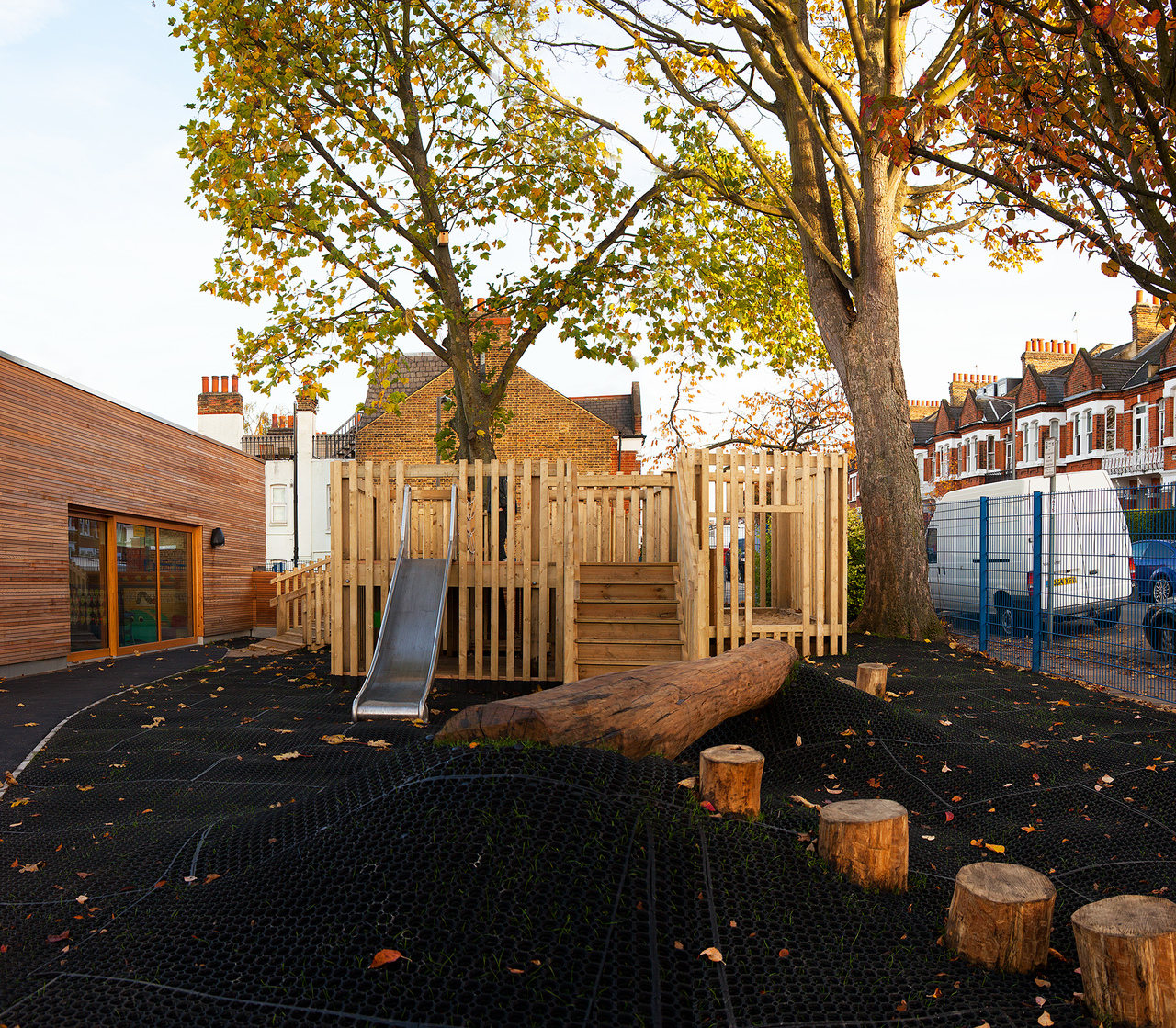Treehouse playground London