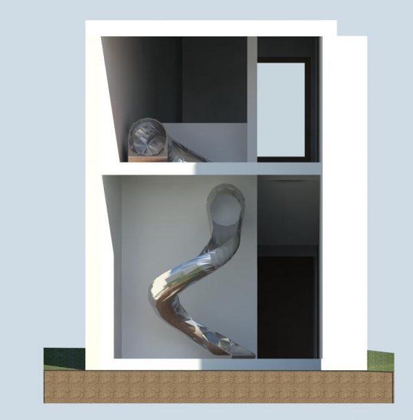 custom slides for houses