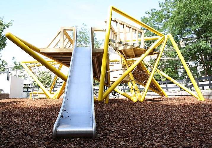 Bespoke metal playground