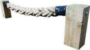Thick balance rope