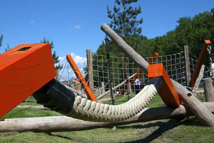 Bespoke park equipment