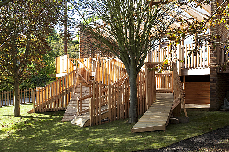 Bespoke school playgrounds
