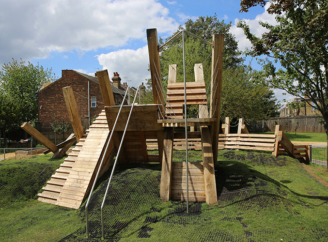 Bramshill pocket park playground