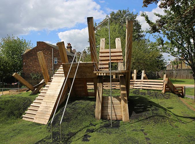 Bramshill pocket park playground