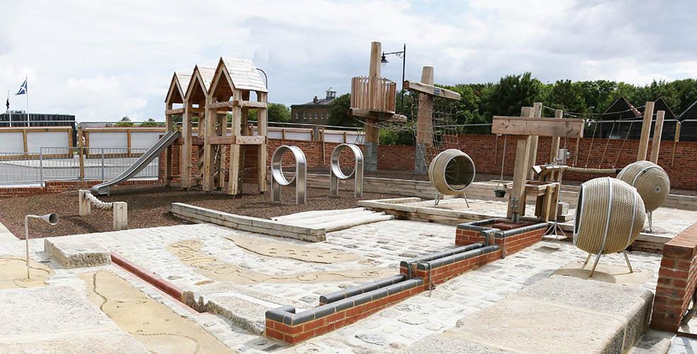 Chatham Historical Dockyard Playground