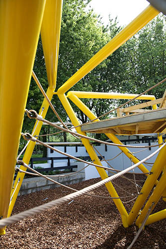 Cool metal playground design