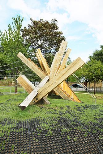 Playground play sculpture
