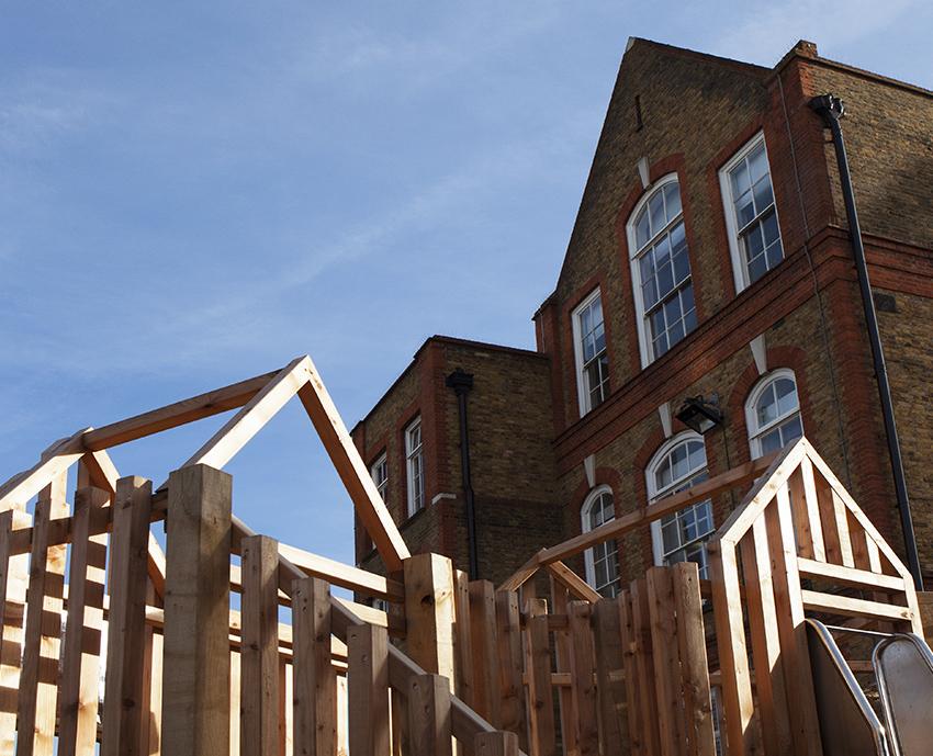 Bespoke wooden playgrounds playground
