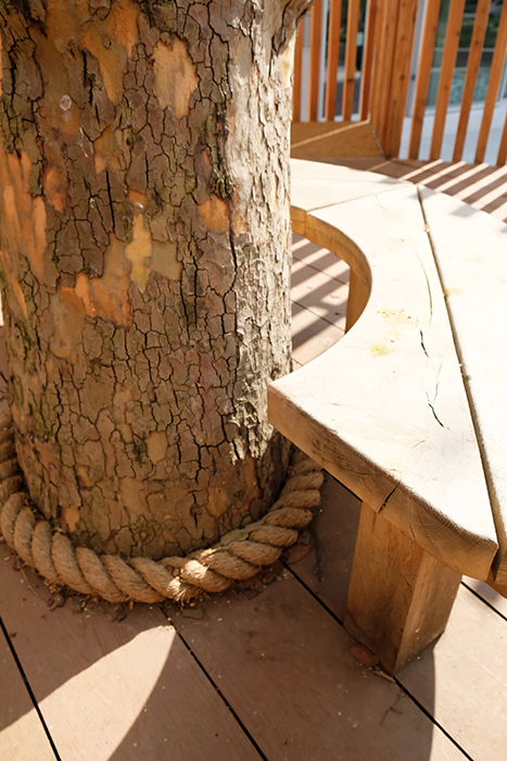 Elephant and castle treehouse