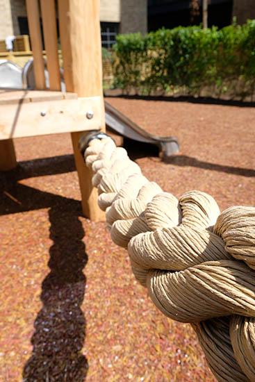 thick playground rope