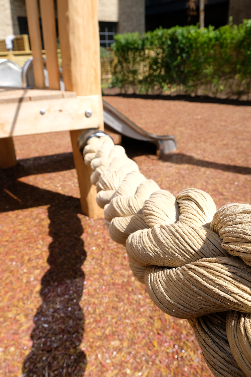 Thick play rope