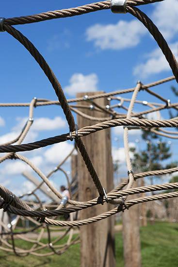 Drapers field playground nets