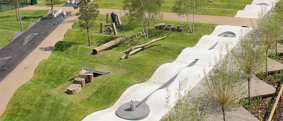 Drapers Field Playground London