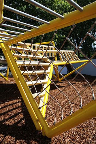 Bespoke metal climbing structure