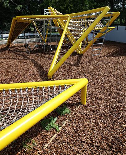 Custom metal playground