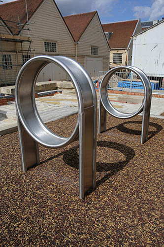 Bespoke metal tunnel playground equipment