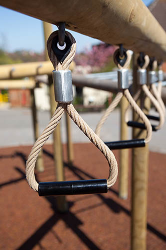 monkey bar trapeze handles