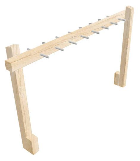 single beam monkey bar