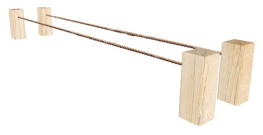 Balance ropes