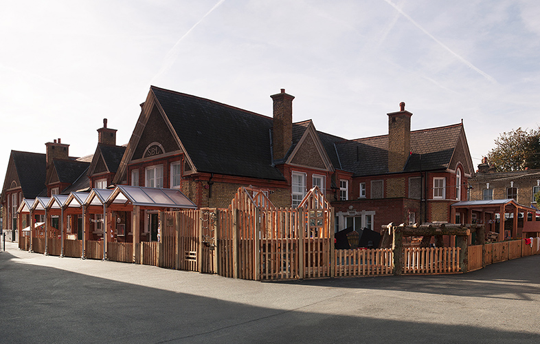 Bespoke nursery playgrounds