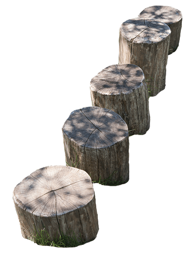 Playground stumps