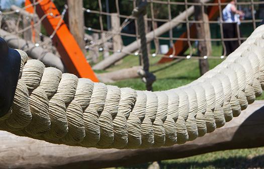 Super thick balance rope