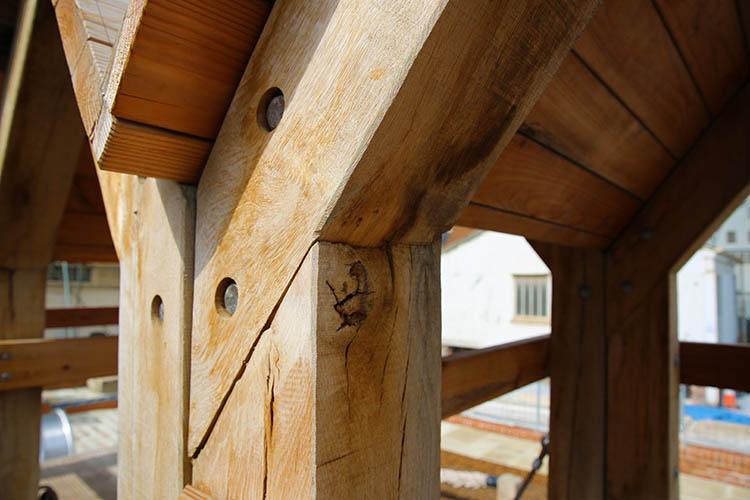 Timber playground equipment