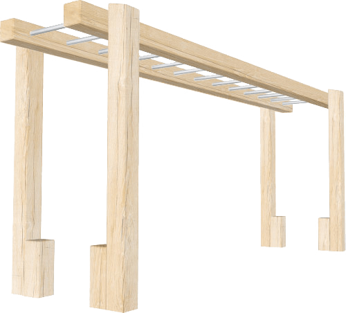 Wooden_Monkey_Bars