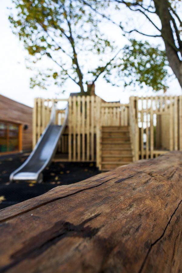 playground log