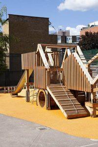 contemporary bespoke playgrounds