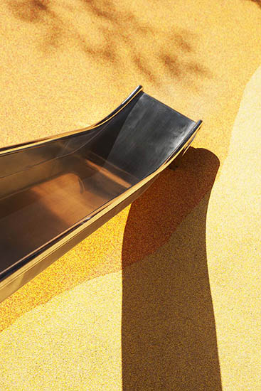 steel slides for playgrounds