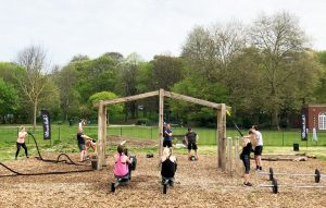 outdoor fitness equipment for parks