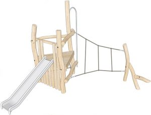 robinia climbing frame render
