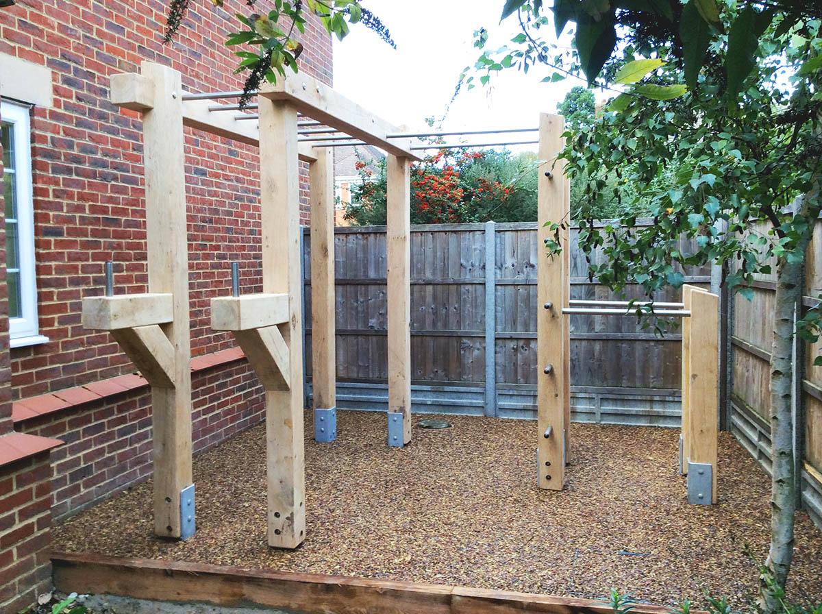 bespoke fitness equipment for gardens