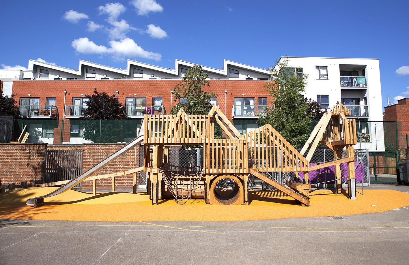 Old Ford Primary School Bespoke Playground