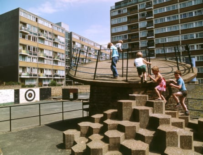 brutalist playgrounds