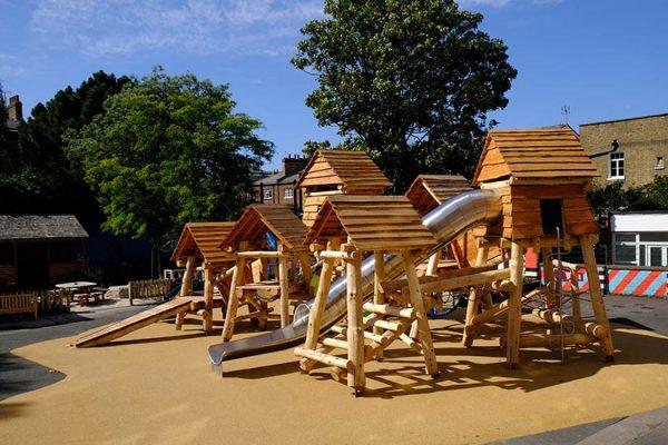 custom playground equipment london