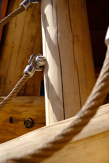 stainless steel rope fixings