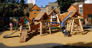 queensbridge primary school playground