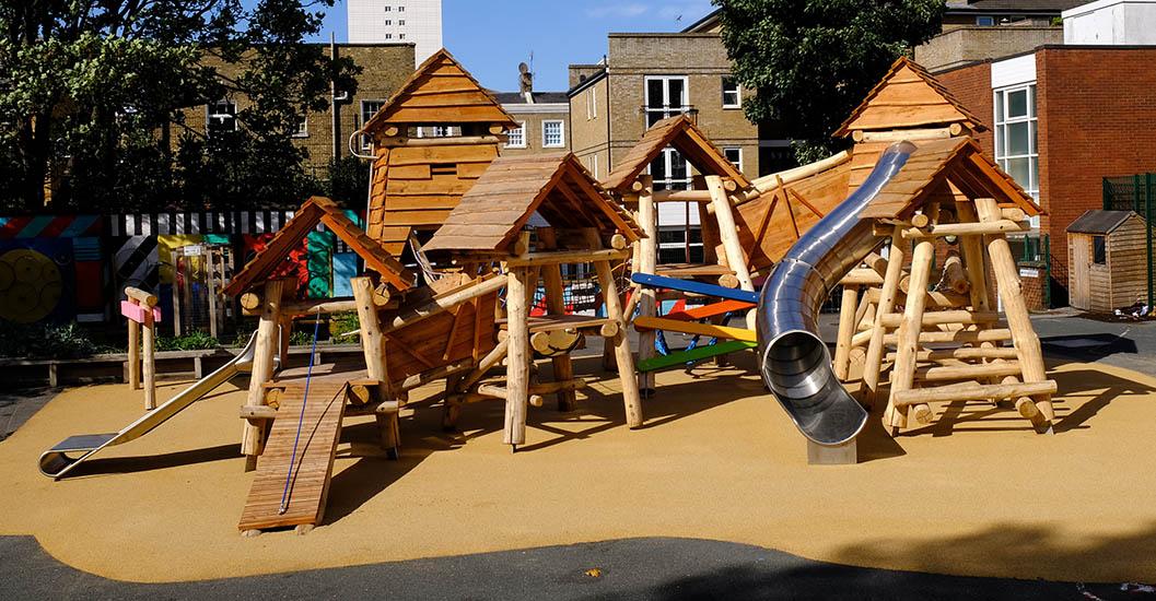 queensbridge primary school playground