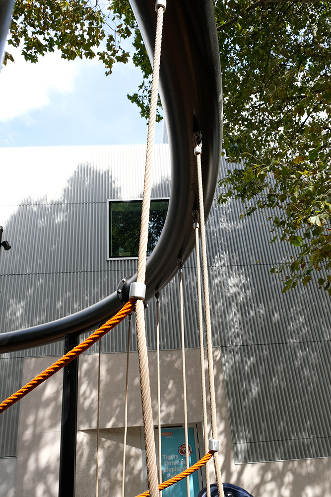 Bespoke rope playground equipment