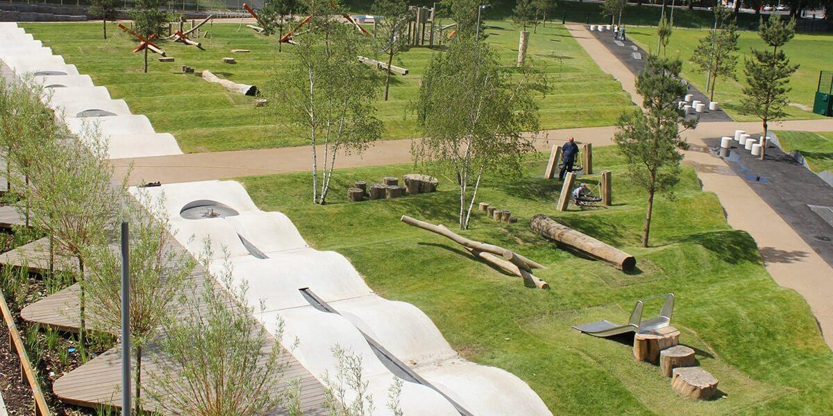 drapers field playground