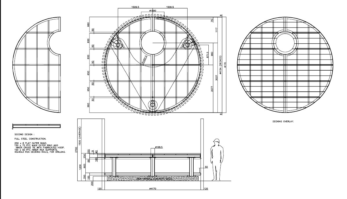 treehouse technical drawing