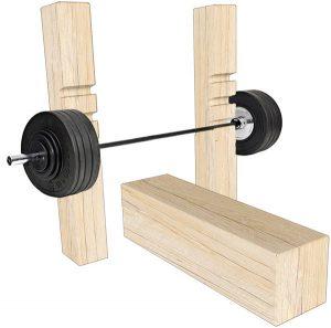Outdoor Weights Bench