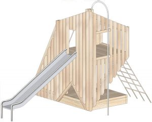 Cantilever Frame Play Structure