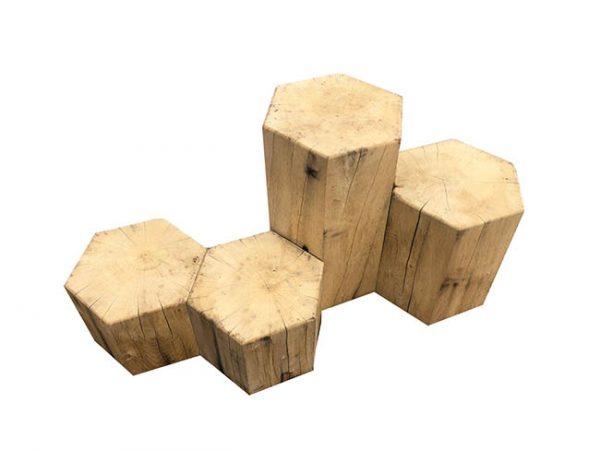 Hexagon stumps photo