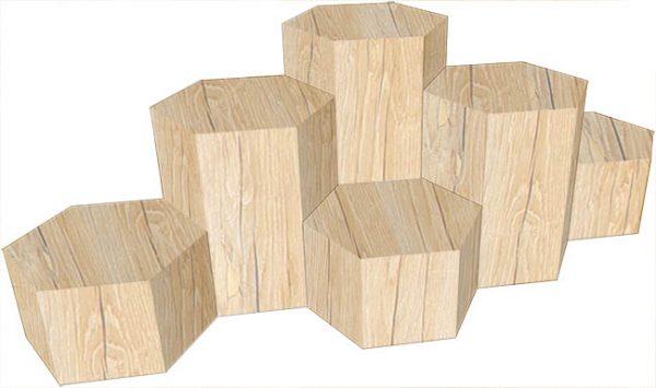 Hexagon stumps