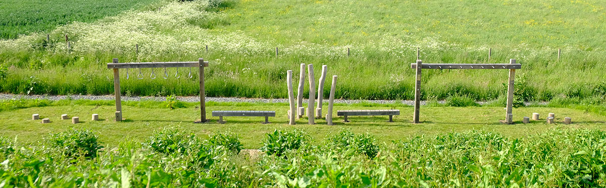 trim trail for schools parks and gardens